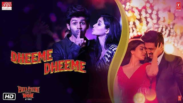 Dheeme Dheeme Lyrics - Pati Patni Aur Woh | Tony Kakkar, Neha Kakkar