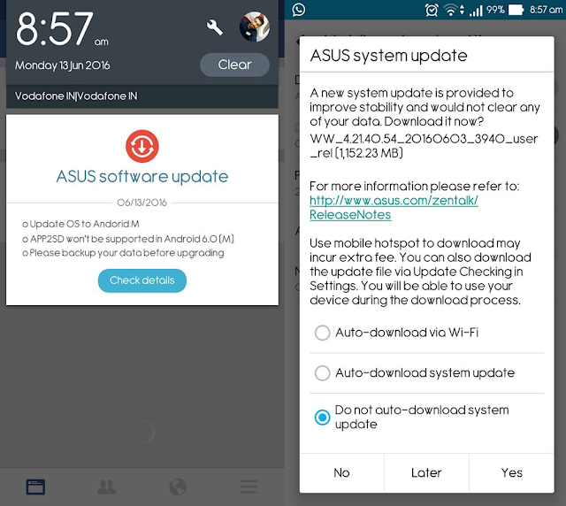 Android 6.0 Marshmallow now rolling out for Asus Zenfone 2