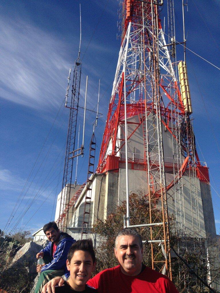 Monterrey Mxico Ascenso a la antena del Cerro de la Silla
