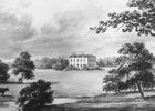 Drawing of Brookmans House by Buckler 1840 - Image from the NMLHS