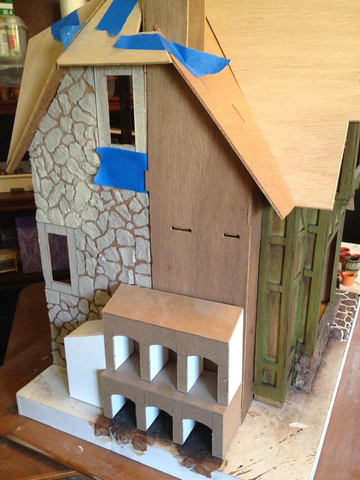 Glorious Twelfth Kit Bashing Greenleaf Dollhouses