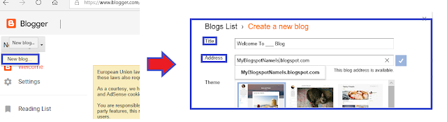 How To Choose Blogger Name