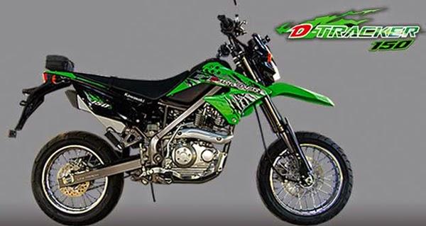 Brosur Harga Motor - Angsuran Kredit Kawasaki D-Tracker 250cc dan 150cc Beserta Spesifikasi Terbaru