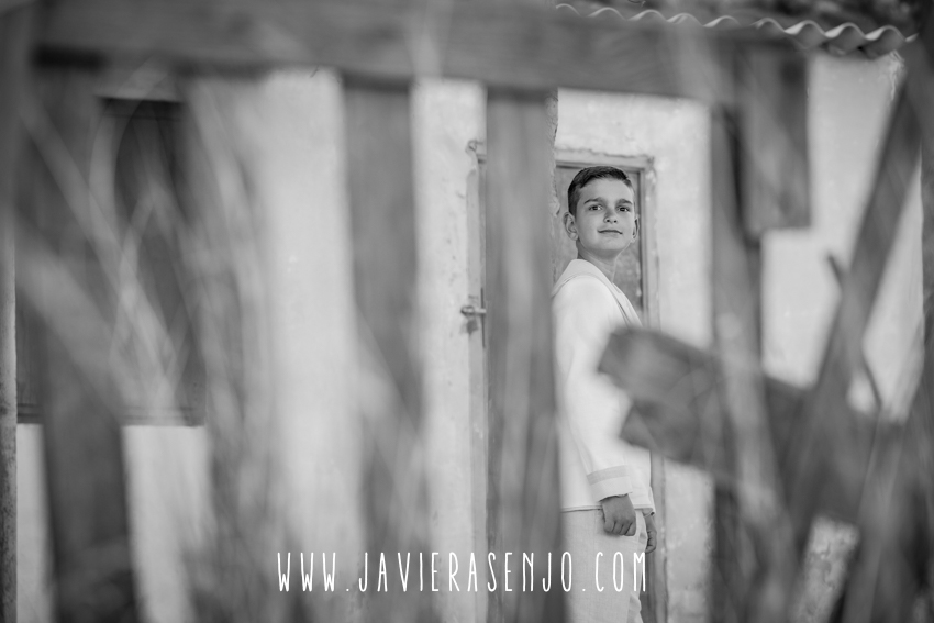 fotos niño de comunion de javier asenjo fotografo