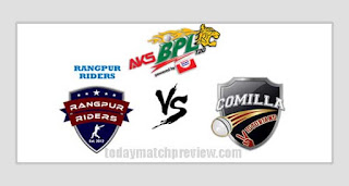 Today Qualifier 1 Match Prediction Comilla vs Rangpur Dream 11 Tips