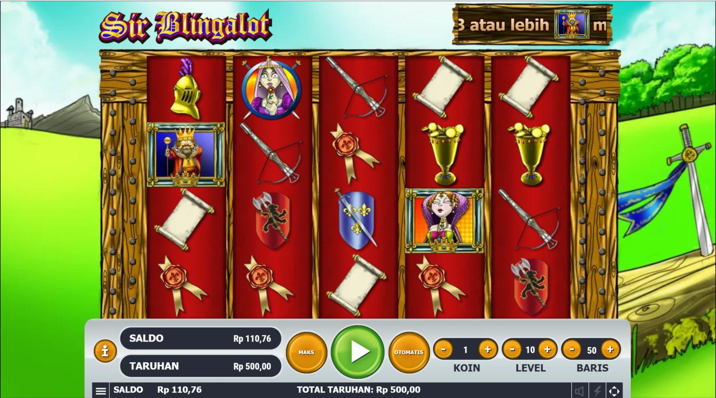 Sir Blingalot No Registration Slot