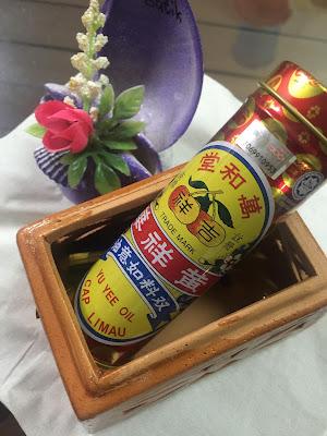 Hadiahkan Minyak Yu Yee Cap Limau Pada si Kecil
