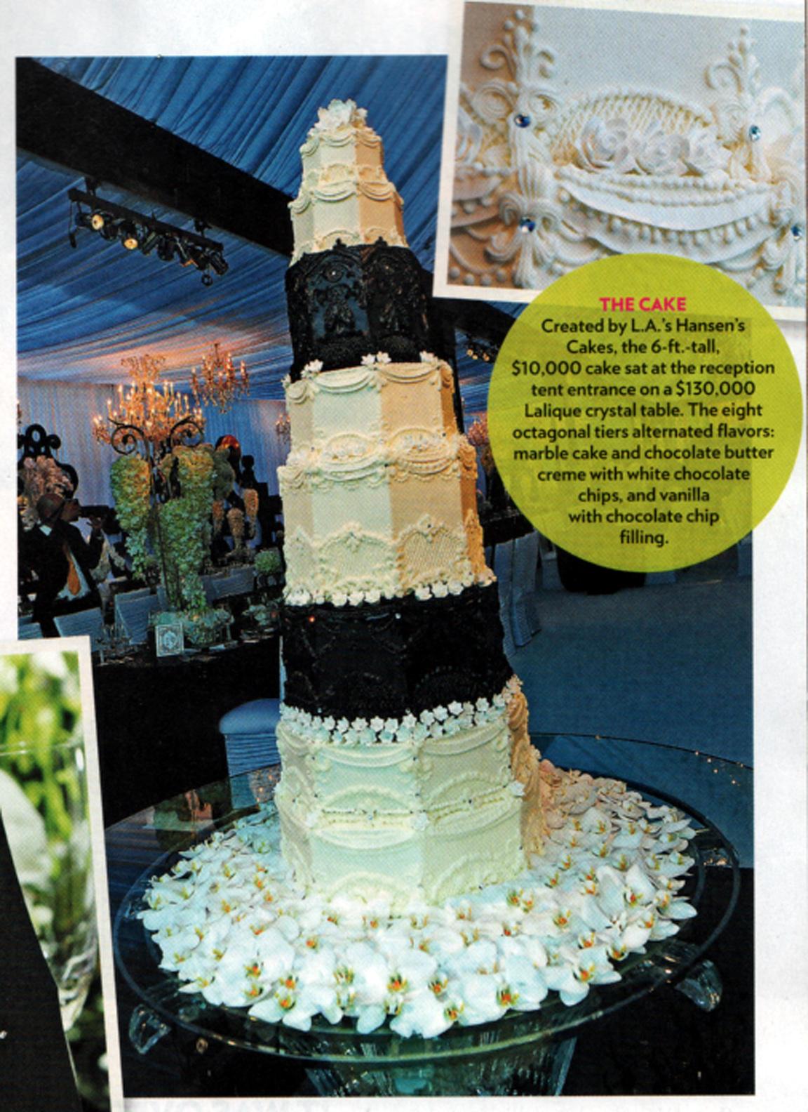 Best Of 2011 Favorite Wedding Cake Kim Kardashian Birthday ...