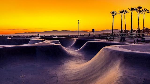 Venice Beach Skate Park em um roteiro em Venice Beach