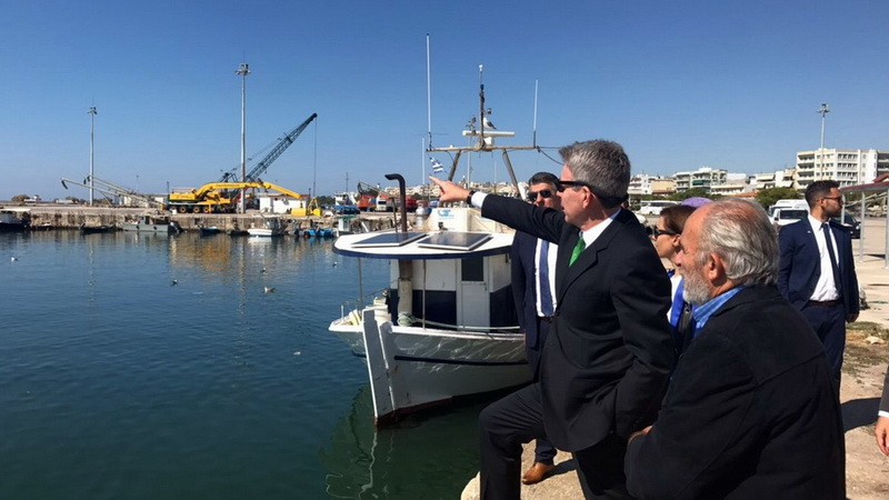 Θερμό παραμένει το Αμερικανικό ενδιαφέρον για το λιμάνι της Αλεξανδρούπολης