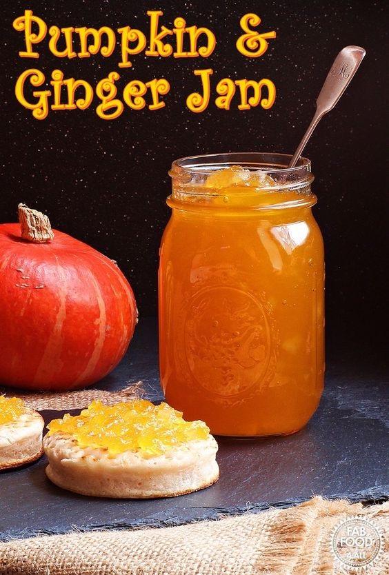 Pumpkin & Ginger Jam