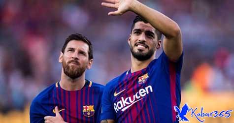 Gol-gol Messi + Suarez Lebih Banyak Dibandingkan 15 Klub La Liga yang Lain