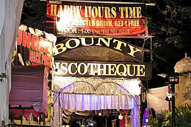 Bounty Disqotheque sebagai Tempat Wisata Malam di Bali