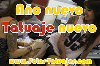Desmotivación de tatuajes : Año nuevo, tatuaje nuevo