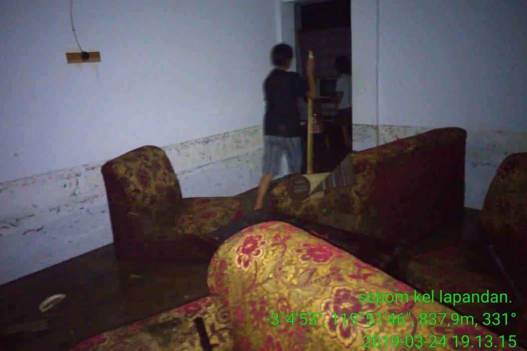 Banjir Rendam Rumah Warga di Lapandan