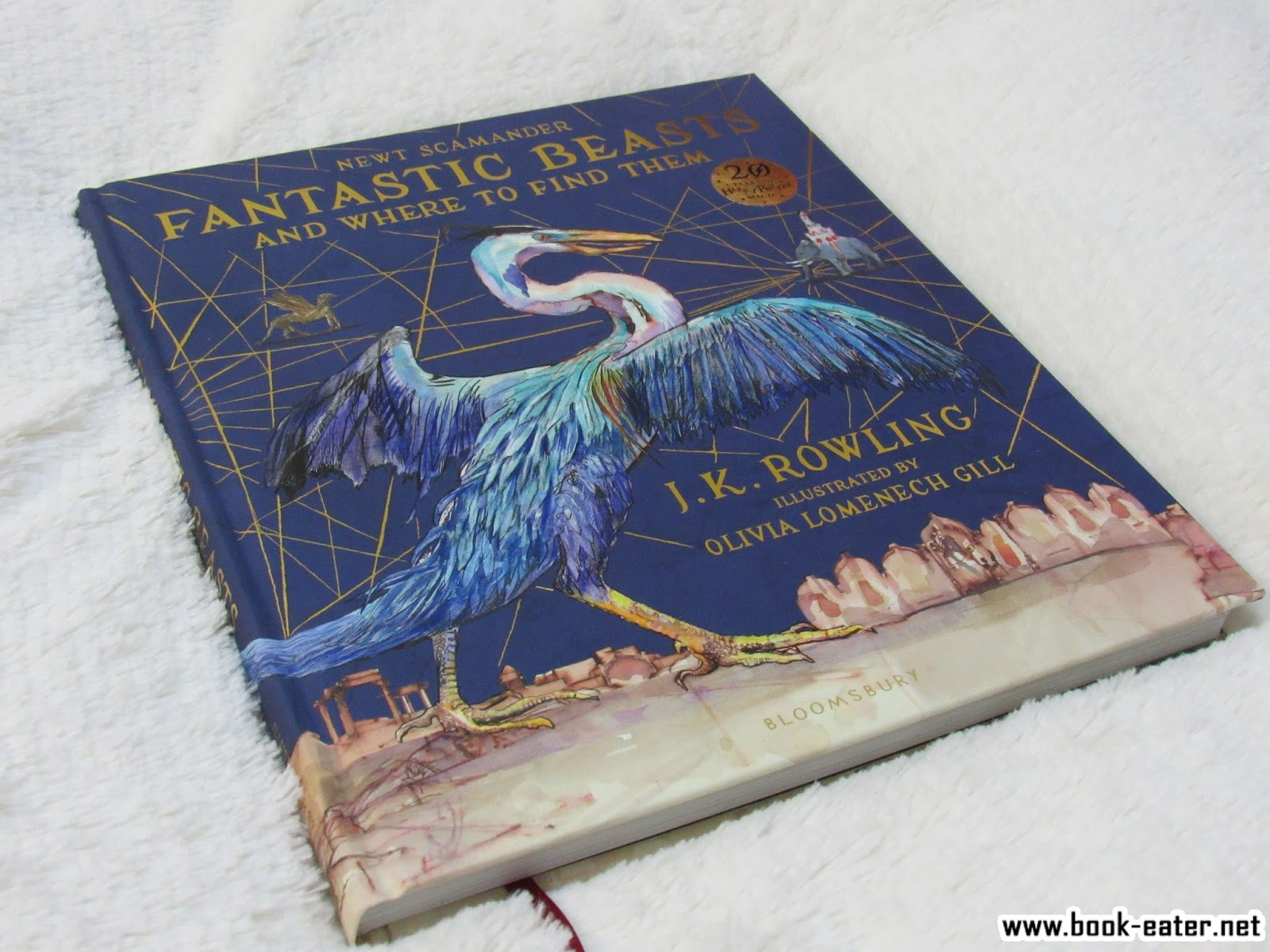 Book Eater Fotoresena Animales Fantasticos De Newt Scamander