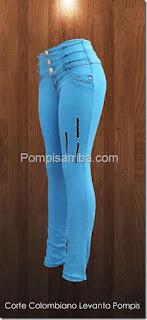 Jeans skynni pantalon stretch para dama original en donde venden