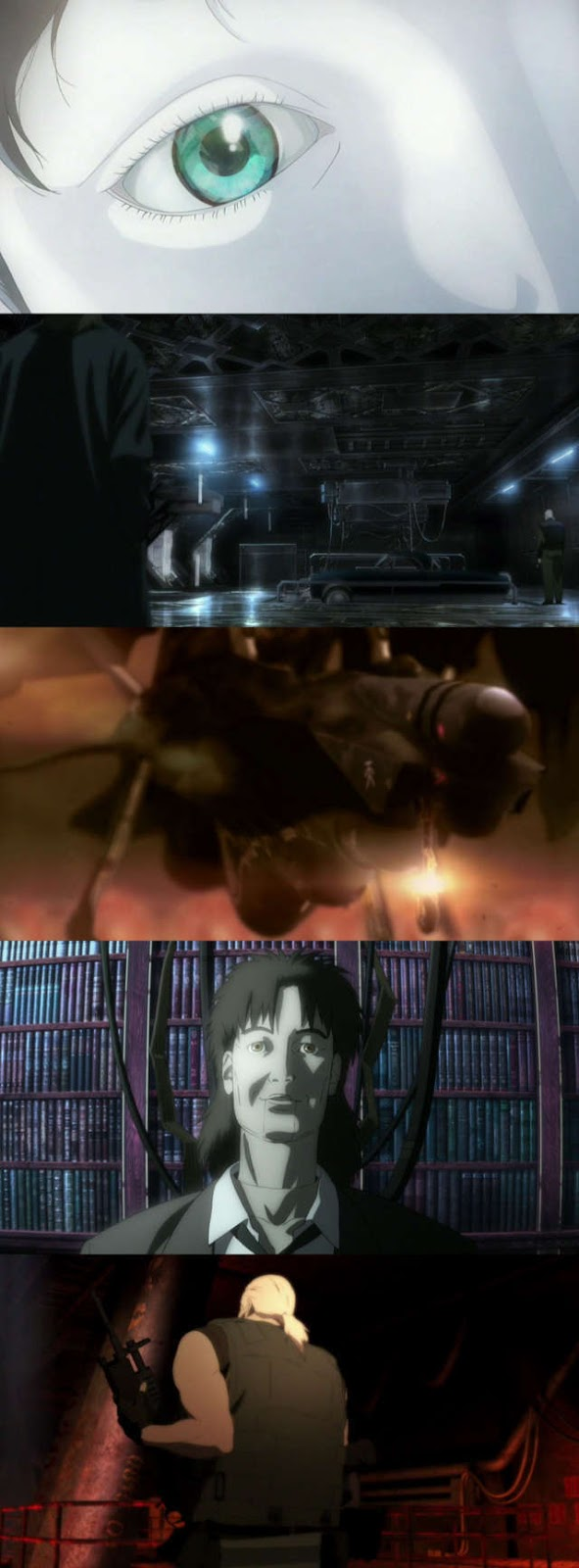 Ghost in the Shell 2: Innocence (2004) HD 1080p Latino