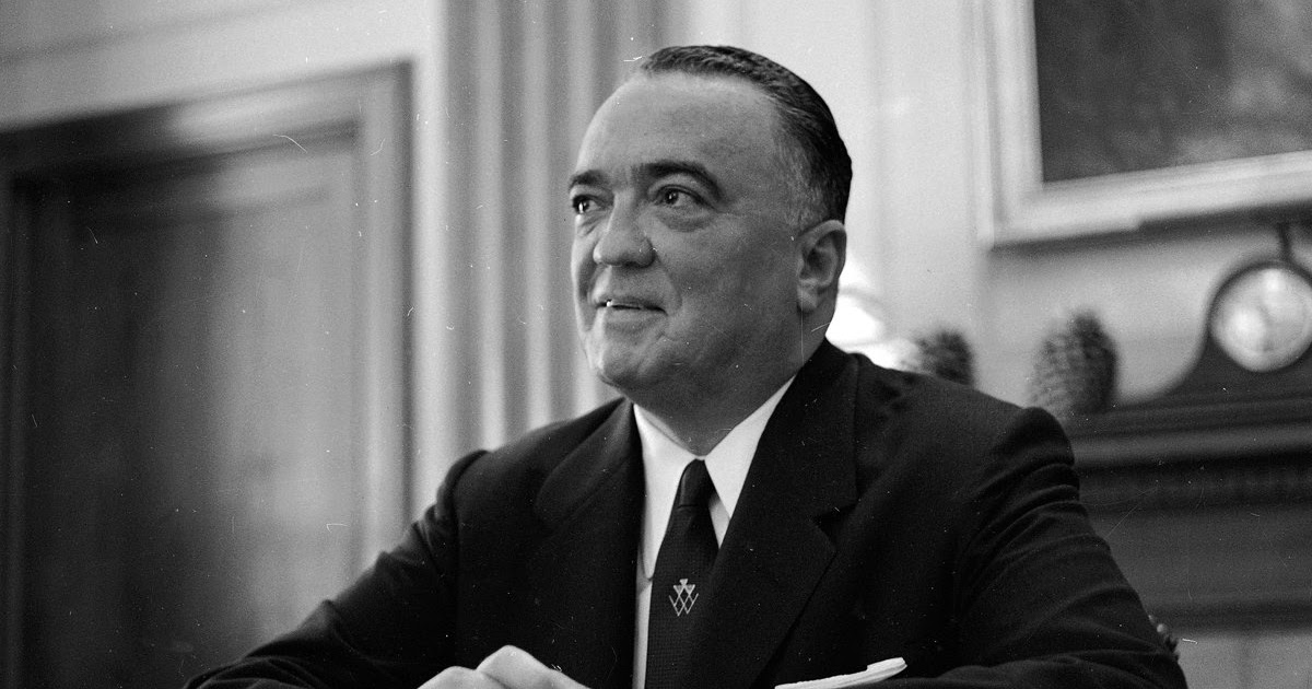 a biography of john edgar hoover the director of the federal bureau of investigation