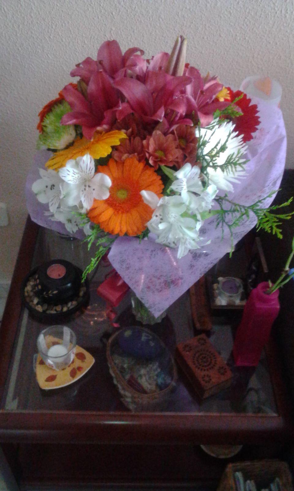 Ramo de flores para aniversario de boda floristeria - Ramos para regalar ...
