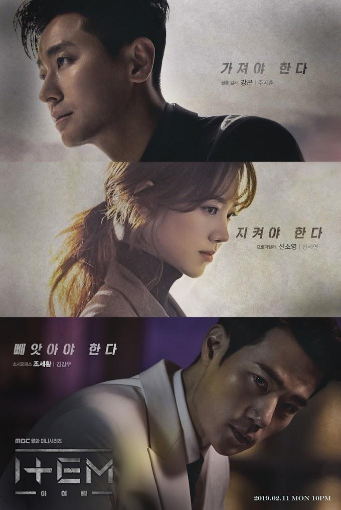 Item Kore Konu ve Oyuncuları / 2019 Kore Dizileri
