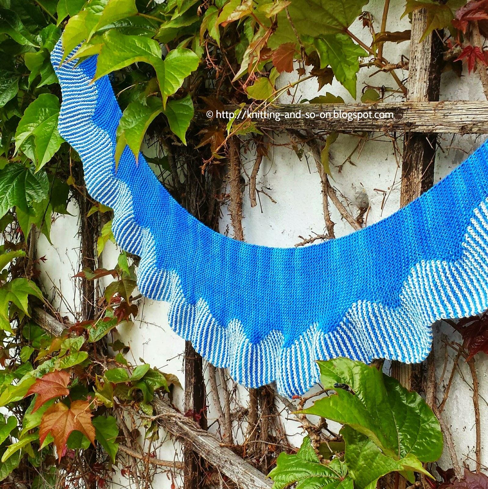 Free Knitting Pattern: Oszilla Scarf