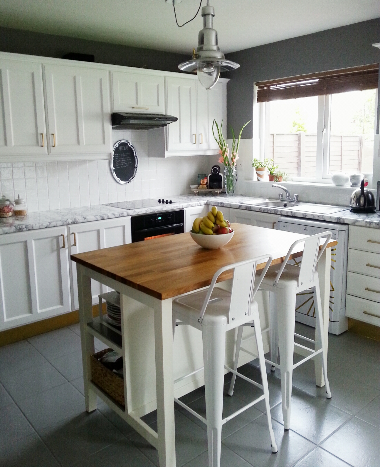 200 One Week Full Kitchen Makeover Make Do And Diy
