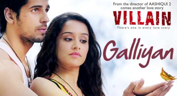 Download Lagu Film Ek Villain - Galliyan Mp3 (Lagu India Terpopler),Lagu India Mp3, Soundtrack Film, Lagu Ost,