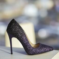 Pantofi dama mov eleganti cu toc subtire 2017