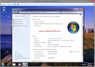 Cara Install Windows 7 di VMware Player