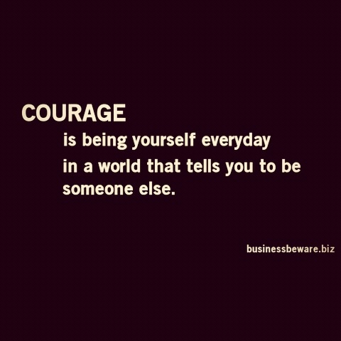 Be the courage to pdf