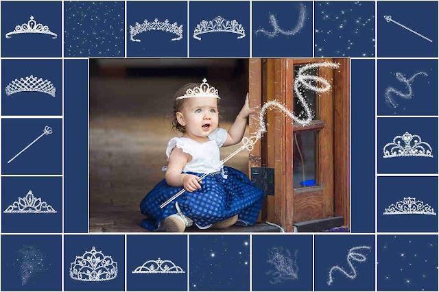 20 صورة بدون خلفية لملحقات تتويج الأميرات