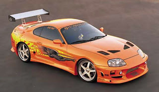 1bc9913e40a7 Inside Look  The Orange Toyota Supra from The Fast and The Furious