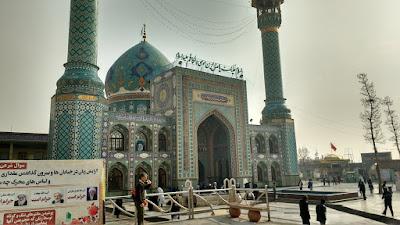 Tehran Iran Tajrish Mosque