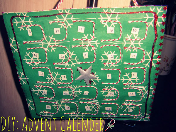 DIY: Advent calender