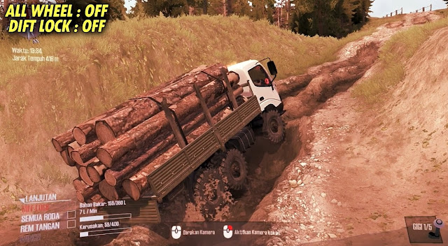 Map Extreme roads with Petrashev Map v1.0 Spintires Mudrunner