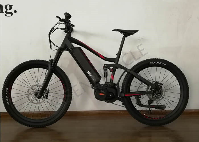 27.5er Boost Electric Enduro Full Suspension Mountain Bike with ...