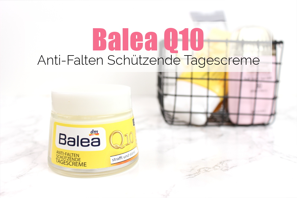 Balea Q10 Tagescreme, Lichtschutzfaktor LSF SPF 30 Review Drogerie Drugstore