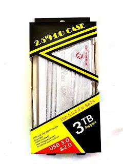 """case box esterno per hard disk 2,5"""" on tenck"""