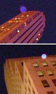 orbs on rooftops