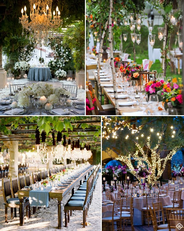 Wedding Venue Decoration Ideas: The Autumn Wedding: Fairy-Inspired Wedding