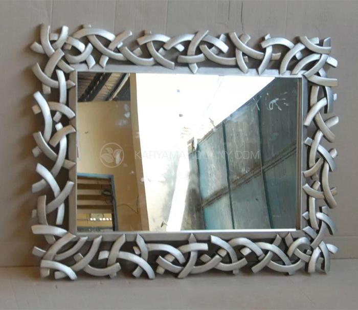 Cermin Minimalis Silver / Harga Cemin Hias Dinding