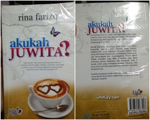 Review Novel | Akukah JUWITA? - Rina Farizq
