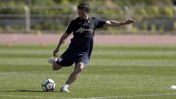 El Málaga realiza hoy un entrenamiento diferente