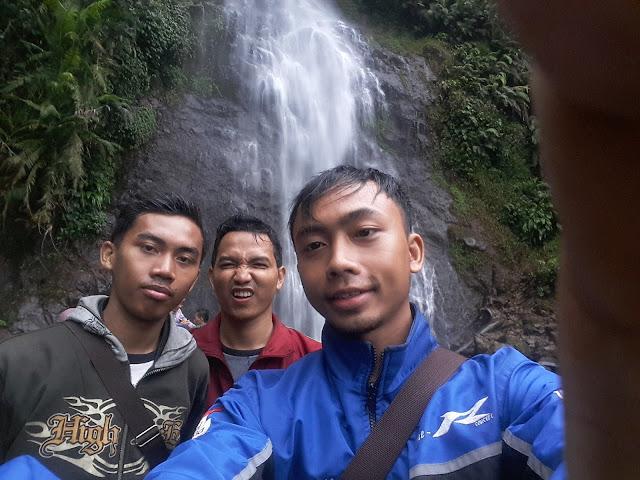 Perjalanan menuju obyek wisata air terjun Cijalu Subang_Jawa barat 2016