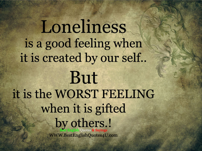 Roald Dahl Quotes Wallpaper Loneliness Is A Good Feeling Best English Quotes