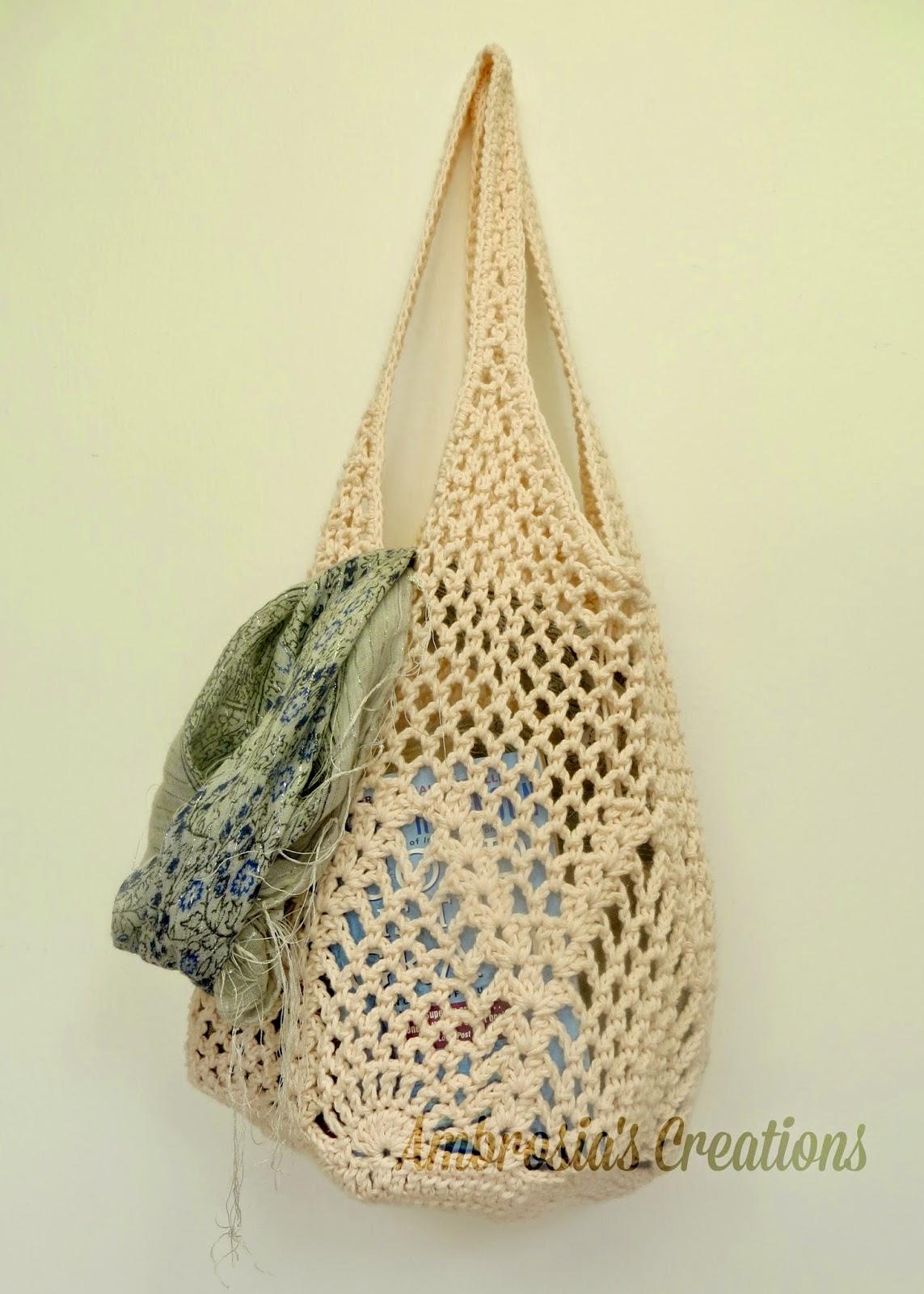 Ambrosia's Creations: Pattern:: Pineapple Crochet Market