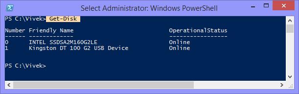 Vivek's Blog: How to Make a Bootable USB Using PowerShell !!!