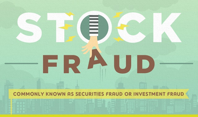 Infographic: Stock Fraud #infographic