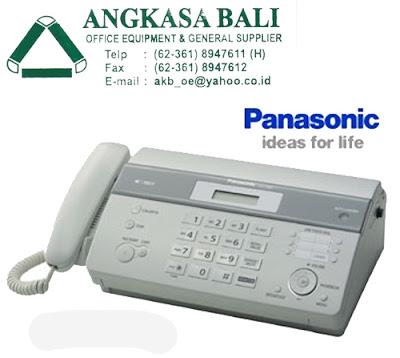 jual mesin fax panasonic di bali